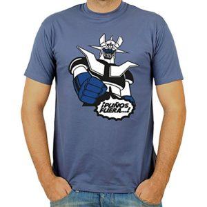Camiseta Mazinger Puños Fuera