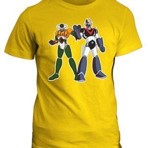 Camiseta Mazinger Robot amarilla