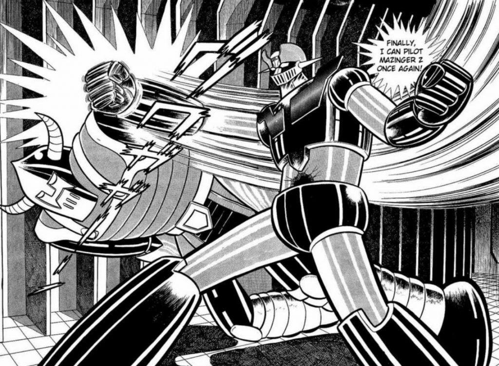 Comics, manga y libros de Mazinger Z