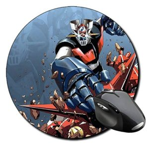 Alfombrilla de ratón redonda - Diseño Mazinger Z