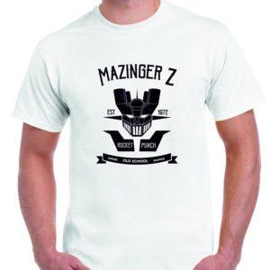 Camiseta blanca Mazinger Z
