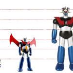 Figuras Mazinger Z en distintos tamaños