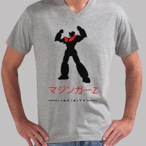 Camiseta Mazinger Z Infinity en Japonés